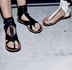 Chic studded sandals ~ All the rage!